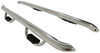 "Westin GenX Oval Nerf Bars with Hoop Steps - 4"" Wide - Polished Stainless Steel Stainless Steel 20-3930"