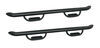 "Westin GenX Oval Nerf Bars with Hoop Steps - 4"" Wide - Black Powder Coated Steel Fixed Step 20-3945"