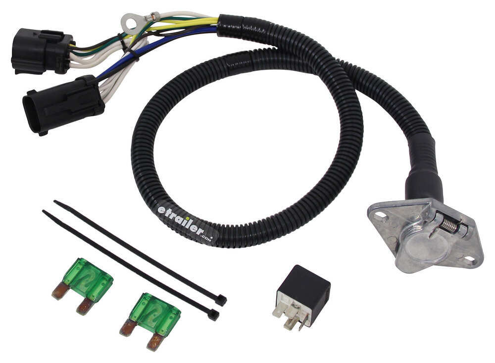 ford replacement oem tow package wiring harness 6 way light duty tekonsha custom fit vehicle