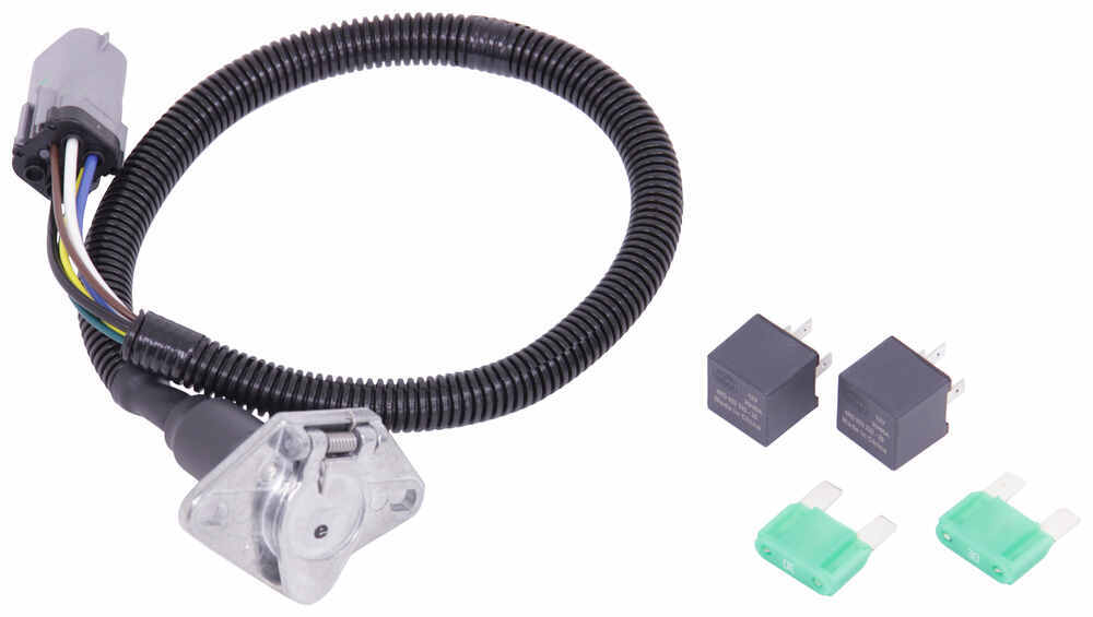ford replacement oem tow package wiring harness 6 way duty tekonsha custom fit vehicle