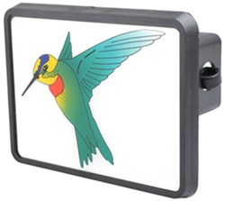 "Hummingbird Trailer Hitch Receiver Cover for 2"" Hitches"