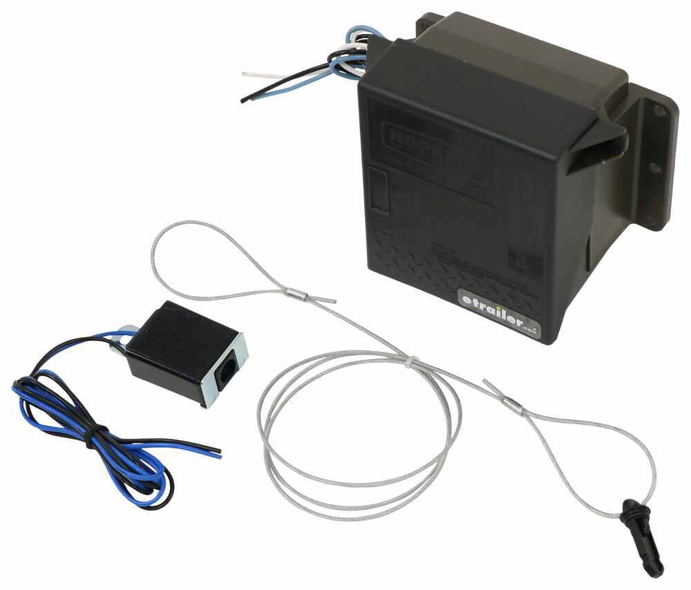 Hopkins Engager Push To Test Trailer Breakaway Kit W Built In Wiring Diagram Addition Brake Switch Charger Side Load 7 Wire 20099