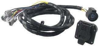 Tow Ready Fifth Wheel and Gooseneck Wiring Harness with 7