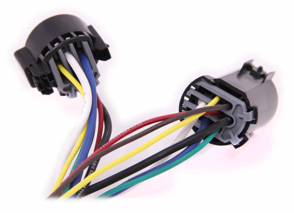 5th Wheel Gooseneck Wiring Harness with 7 Way Plug Tow