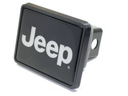 "Jeep Trailer Hitch Receiver Cover for 2"" Trailer Hitches"