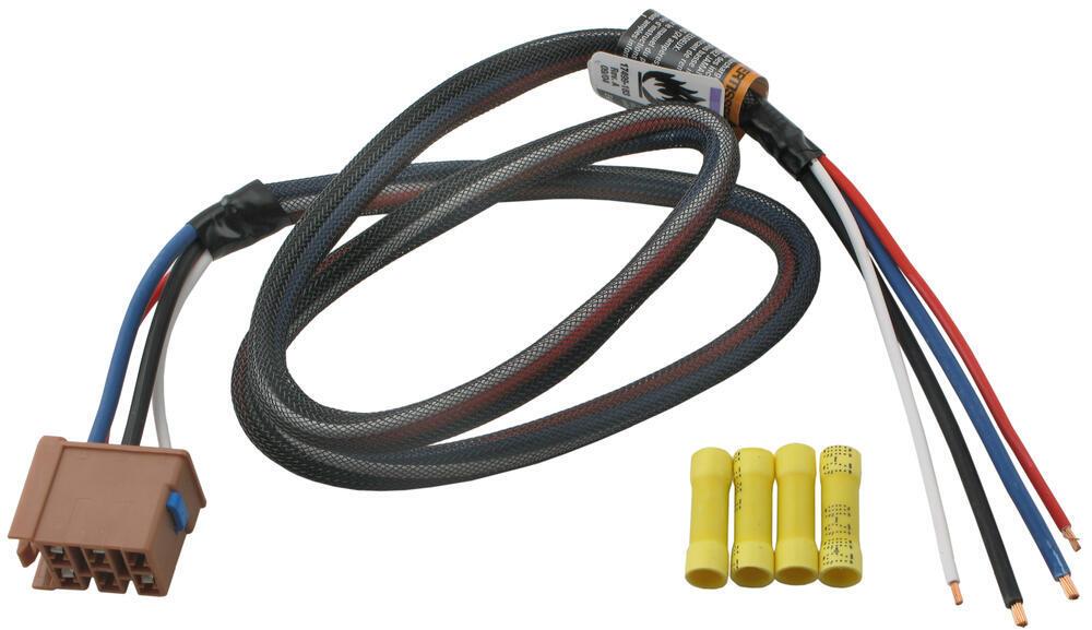 Tekonsha Custom Wiring Adapter for Trailer Brake Controllers - Pigtail - GM Wiring Adapter 3015-S