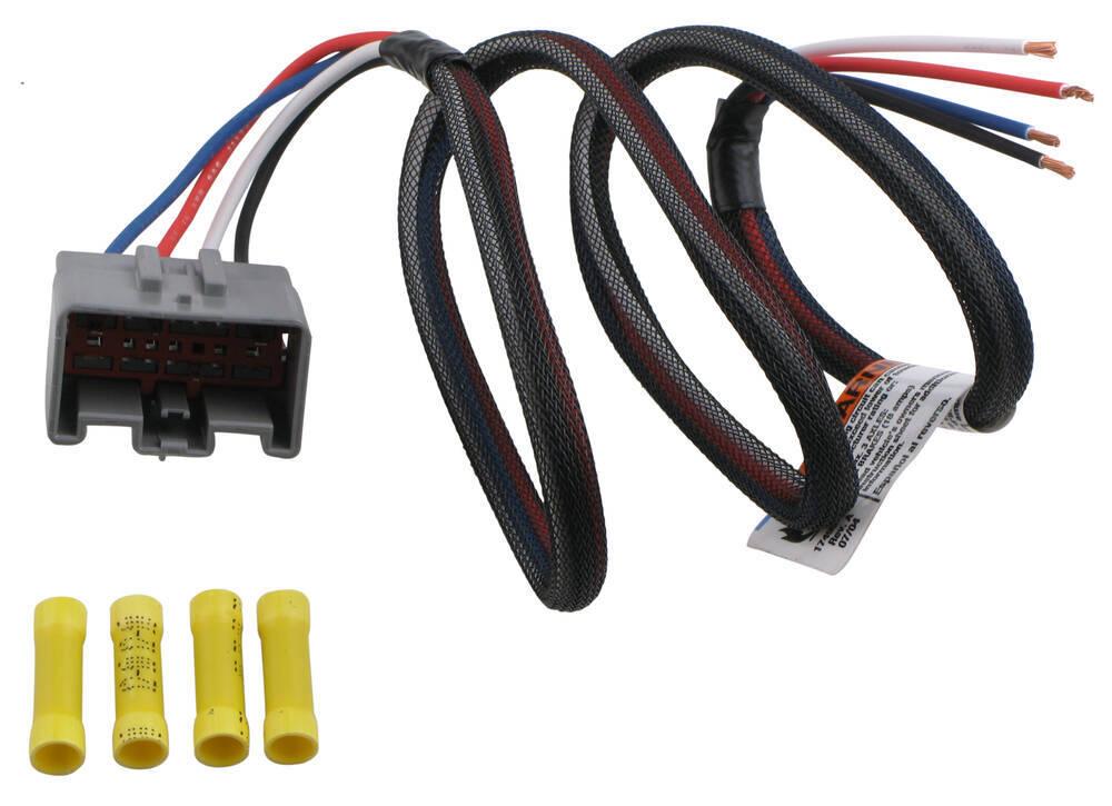 tekonsha custom wiring adapter for trailer brake controllers pigtail ford tekonsha