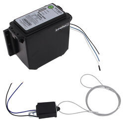 Hopkins Engager Push-To-Test Trailer Breakaway Kit with Built-In Battery Charger - Top Load