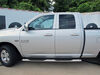 """Westin PRO TRAXX Oval Nerf Bars - 4"""" - Polished Stainless Steel Silver 21-23550 on 2014 Ram 1500"""