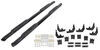 "Westin PRO TRAXX Oval Nerf Bars - 4"" - Black Powder Coated Steel Oval 21-23945"