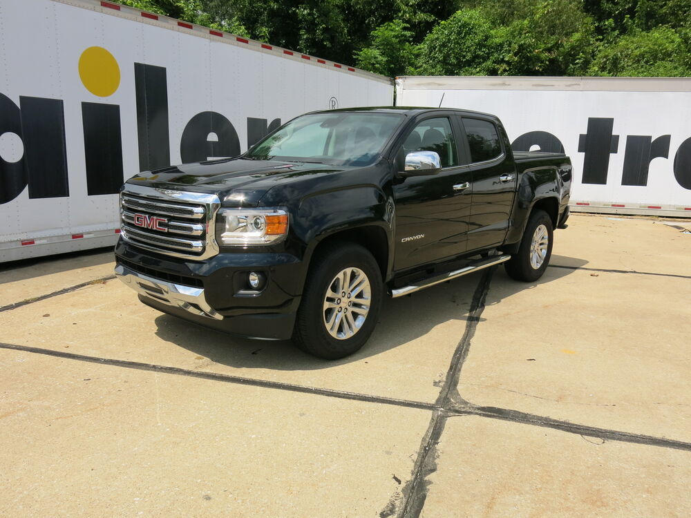 Gmc Canyon Length >> 2016 GMC Canyon Nerf Bars - Running Boards - Westin