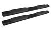 "Westin PRO TRAXX Oval Nerf Bars - 6"" - Black Powder Coated Steel Cab Length 21-63945"