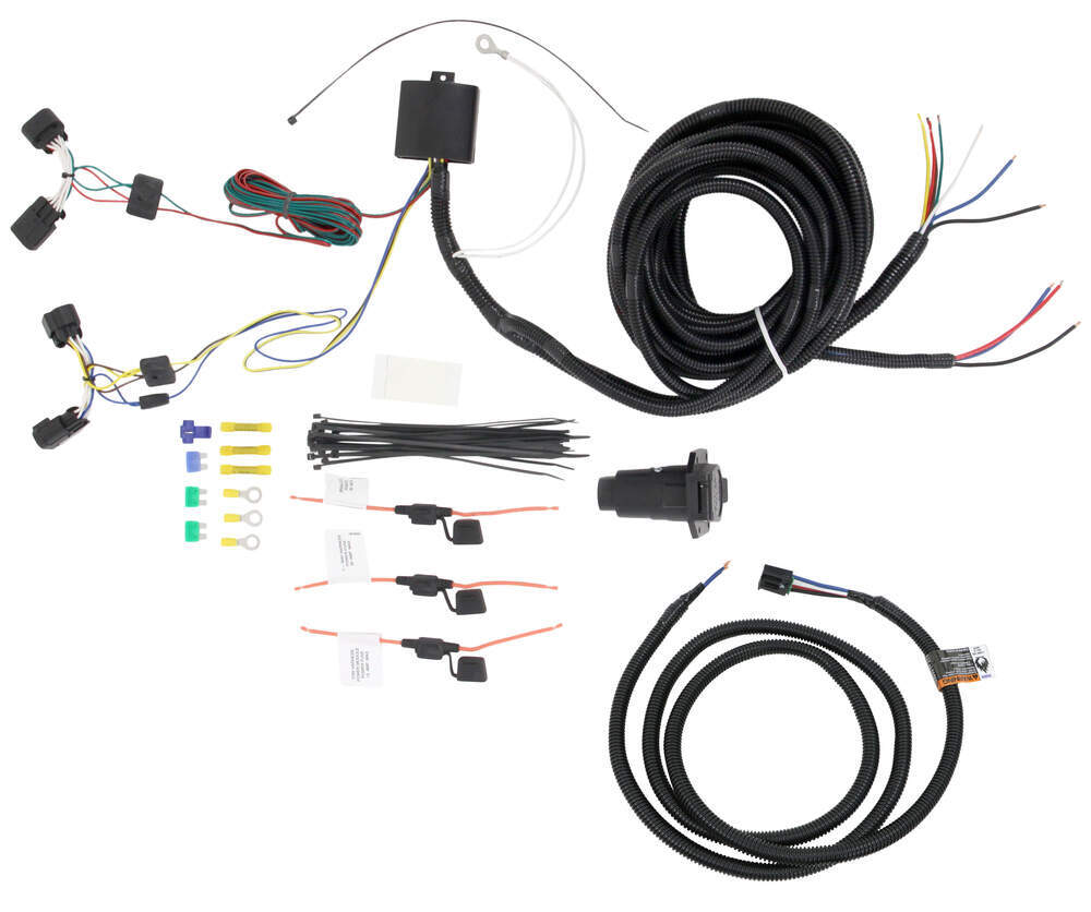 Compare Tekonsha Oem Replacement Vs Curt T Connector Wiring Harness Custom Fit Vehicle 22112