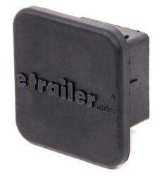 "etrailer.com Rubber Hitch Cover for 2"" Trailer Hitches - Qty 1"