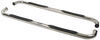 "Westin E-Series Round Nerf Bars - 3"" - Polished Stainless Steel"