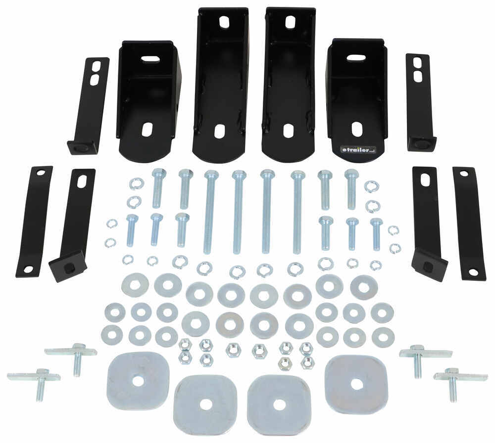 "Replacement Mounting Brackets and Hardware for Westin 3"" Round Nerf Bars Installation Kit 23-232PK"