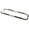 "Westin E-Series Round Nerf Bars - 3"" - Polished Stainless Steel Cab Length 23-2350"