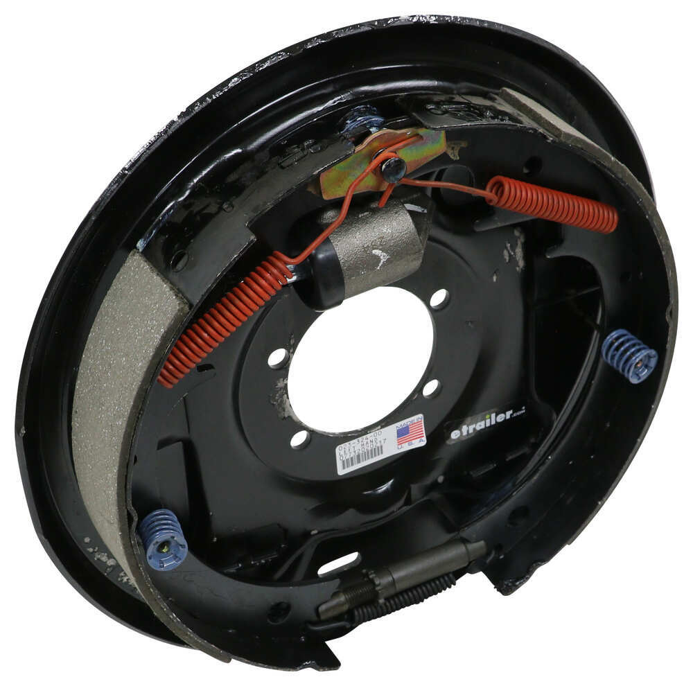 "Dexter Hydraulic Drum Brake Assembly - Uni-Servo - 12"" - Left Hand - 5,200 lbs Hydraulic Drum Brakes 23-324"