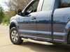 "Westin E-Series Round Nerf Bars - 3"" - Polished Stainless Steel Cab Length 23-3930 on 2016 Ford F-150"