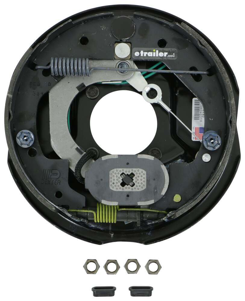 Dexter Nev R Adjust Electric Trailer Brake Assembly 10 Left And When I Plug The Into Truck They Lock Up Etrailercom Hand 3500 Lbs Axle Accessories Parts 23 468