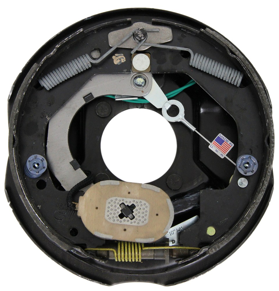 Trailer Axles Brakes System : Dexter nev r adjust electric trailer brake assembly
