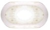 Optronics RV Courtesy Light - 2 Wire - Oval - Incandescent - Clear Lens w/White Base White 2407764B