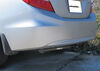 2012 honda civic trailer hitch draw-tite custom fit sportframe receiver - class i 1-1/4 inch