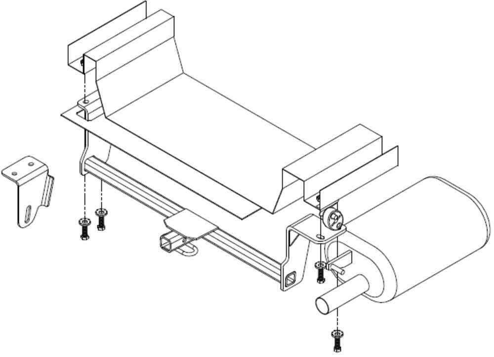 Draw Tite Sportframe Trailer Hitch Receiver