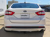 24897 - Visible Cross Tube Draw-Tite Trailer Hitch on 2013 Ford Fusion