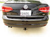 Trailer Hitch 24926 - Visible Cross Tube - Draw-Tite on 2015 Volkswagen Jetta