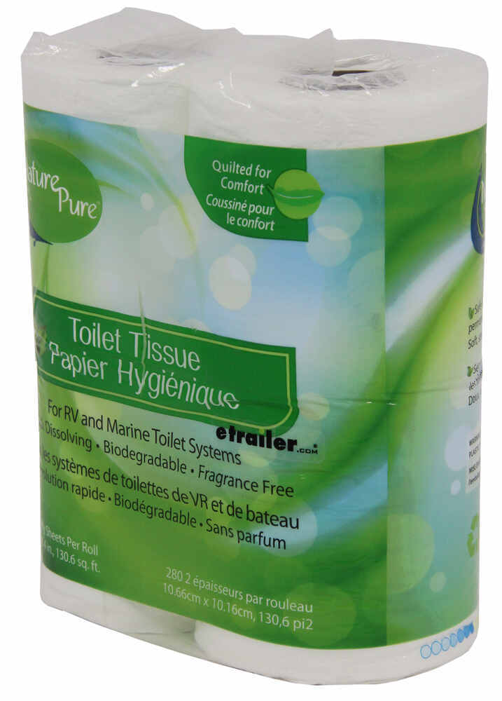 Nature Pure RV and Marine Toilet Paper - Septic Safe - 2