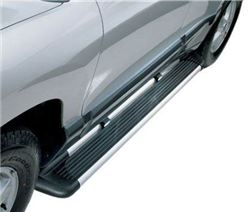 "Westin Sure-Grip Running Boards w/ Custom Installation Kit - 6"" Wide - Brushed Aluminum - 27-6130-2205"