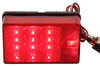 "LED Tail Light for Trailers Over 80"" Wide - 7 Function - Submersible - Red Lens - Passenger"