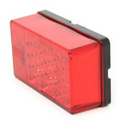 6x4 inch led trailer tail lights that mount on studs on 2 inch led tail light for trailers over 80 wide 8 function submersible red