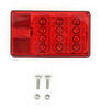 271585 - Stop/Turn/Tail,Side Marker,Side Reflector,Rear Reflector,License Plate Wesbar Trailer Lights