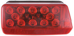 "Wraparound LED Tail Light for Trailers Over 80"" - 7 Function - Submersible - Red - Passenger"