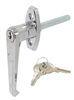 """Redline Locking """"L"""" Style Door Handle - 2-1/2"""" Door Latch 276"""