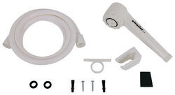 Ultra Faucets Hand-Held RV Shower Set - White