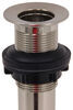 Ultra Faucets RV Drain Plug - Satin Nickel Finish 6-1/2 x 2 Inch 277-000038