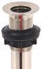 Ultra Faucets RV Drain Plug - Satin Nickel Finish Satin Nickel 277-000038