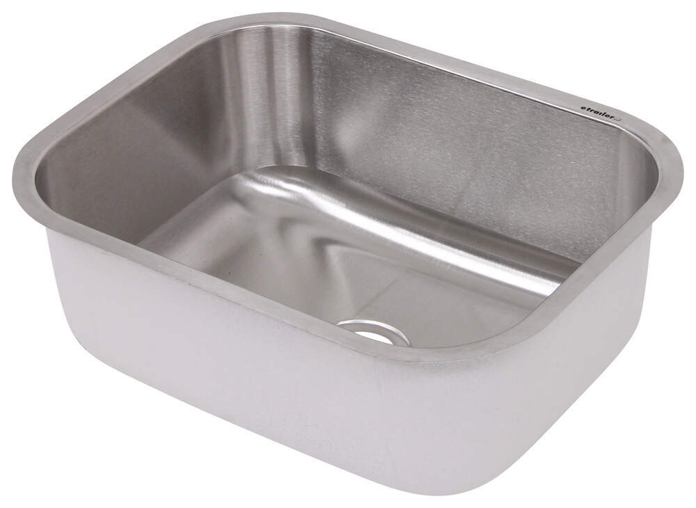 rv stainless steel kitchen sink distribution single bowl stainless steel rv 7853