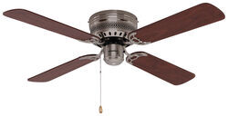 Weight of airrforce hugger style rv ceiling fan 277 000082 42 hugger style rv ceiling fan for rvs brushed chrome mozeypictures Image collections
