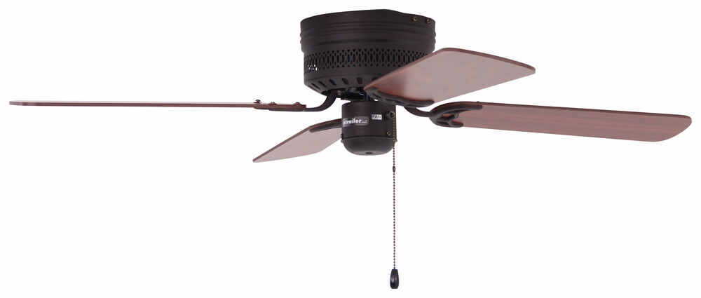 42 Quot Hugger Style Rv Ceiling Fan For Rvs Oil Rubbed
