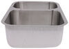 Patrick Distribution Offset Double Bowl Stainless Steel RV Kitchen Sink Stainless Steel 277-000090