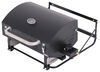 Portable Gas Grill with Carrying Bag - Black