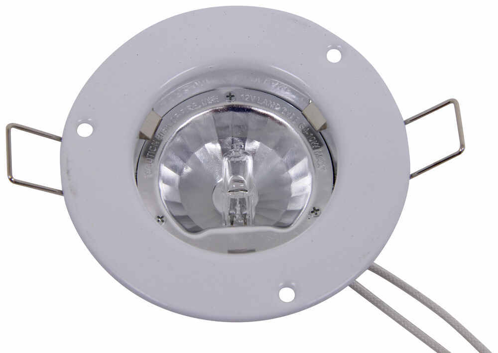 2 Quot Recessed Halogen Puck Light With Frosted Glass 10w