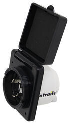Epicord 30 Amp Twist Lock Power Inlet - Black