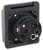 Epicord 50 Amp Twist Lock Power Inlet - Black Black 277-000140