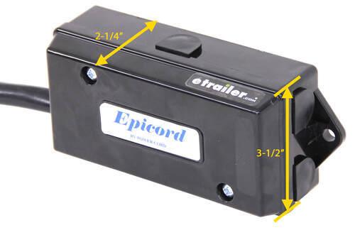 Epicord 7 Way Molded Trailer Plug With, Epicord Rv Power Cord Wiring Diagram