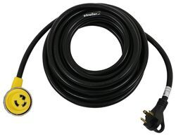 Epicord RV Power Cord with Handle - 30 Amp Male to Twist Lock Female Connector - 30' Long